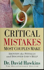 Cover of: 9 critical mistakes most couples make | Hawkins, David