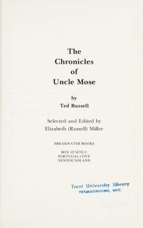 Cover of: The chronicles of Uncle Mose | Ted Russell