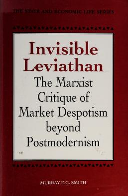 Cover of: Invisible Leviathan | Murray E. G. Smith