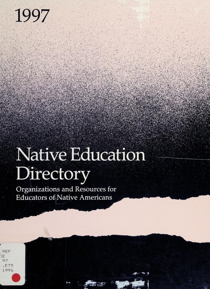Native Education Directory by