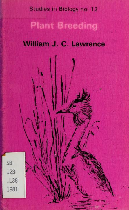 Plant breeding by William J. C. Lawrence