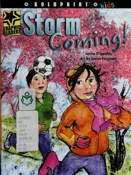 Cover of: Storm coming! | Janine D'Ippolito