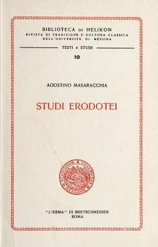 Cover of: Studi erodotei | Agostino Masaracchia