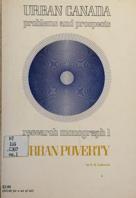 Cover of: Urban poverty | N. H. Lithwick